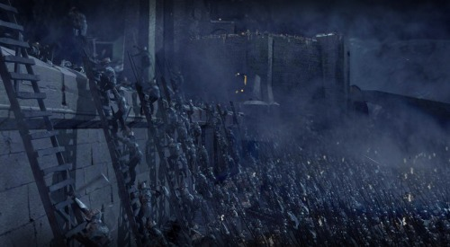 Beliebers defend their lord at the Battle of Helms Deep